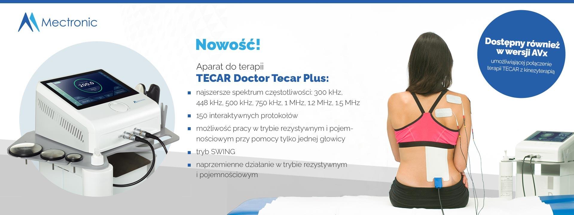 Nowa seria aparatów do terapii TECAR
